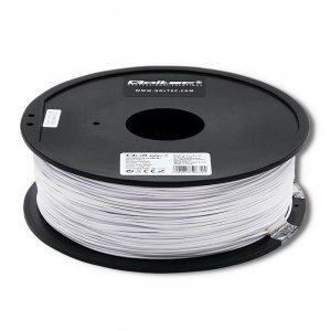 Filament Qoltec do druku 3D | ABS PRO | 1,75mm | 1kg | Cold white