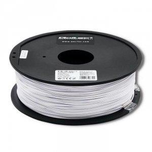 Filament Qoltec do druku 3D | PLA PRO | 1,75mm | 1kg | Cold white