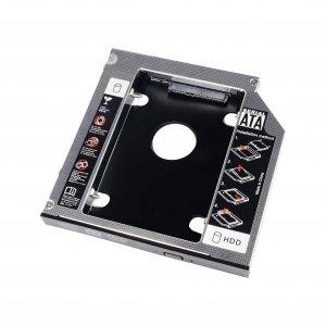"""Ramka do dysków twardych Akyga AK-CA-56 HDD 2.5"""" w miejsce DVD Slim 13mm"""