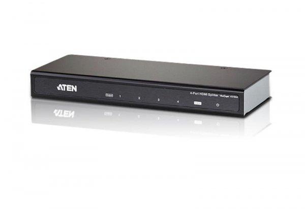 Rozdzielacz/Splitter ATEN HDMI 4K VS184A (VS184A-A7-G) 4-port.