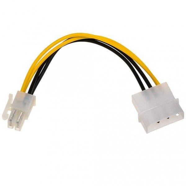 Kabel adapter Akyga AK-CA-12 Molex (M) - P4 (M) 0,15m