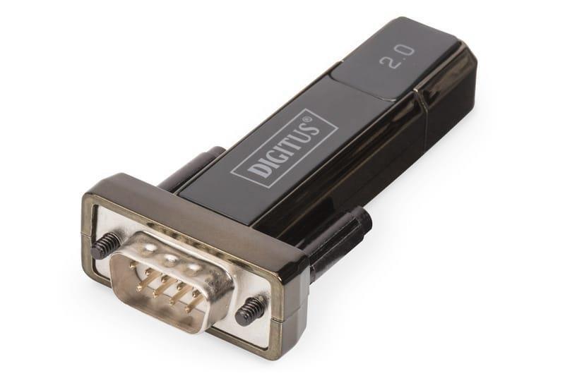 Konwerter(Adapter) DIGITUS DA-70167 USB 2.0 do RS232 (DB9) z kablem Typ USB A M/Ż 0,8m