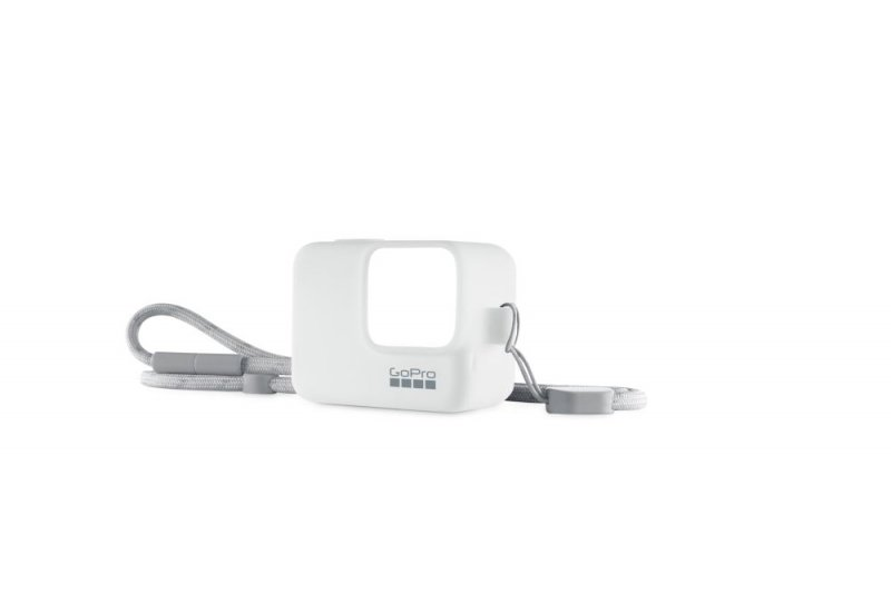 GoPro Sleeve + Lanyard - silikonowa obudowa biała GoPro Hero 5, 6, 7