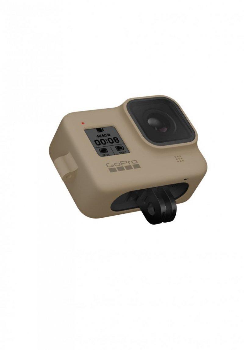 GoPro Sleeve + Lanyard do HERO 8 Black - silikonowa obudowa piaskowa