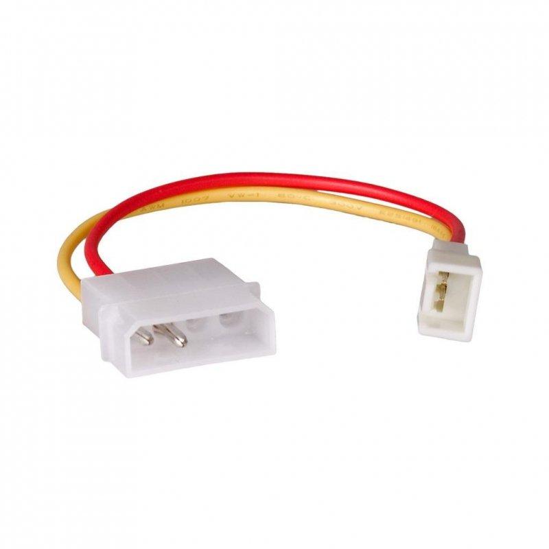 Kabel adapter Akyga AK-CA-36 Molex (M) - 3-pin 5V (M) 0,15m