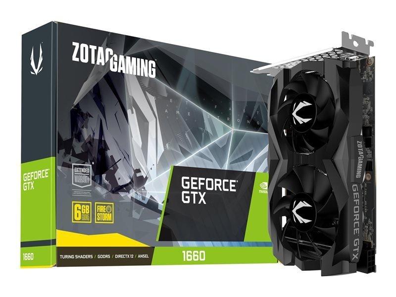 ZOTAC Karta grafiki GAMING GeForce GTX 1660 Twin Fan