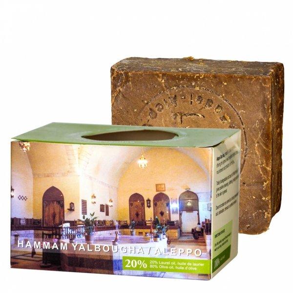 Mydło z Aleppo oliwno-laurowe 20%