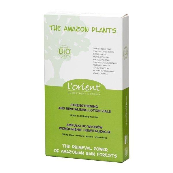 Amazon Plants ampułki wzmacniające do włosów