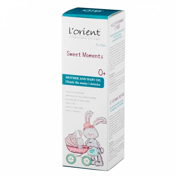Sweet Moments oliwka dla mamy i dziecka od pierwszego dnia życia