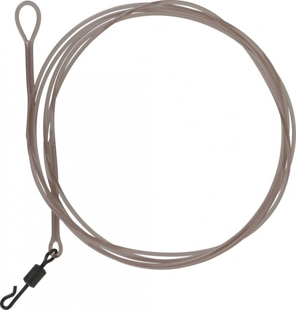 LM Mirage Loop Leader 100cm 35lbs W/QC Swivel 2szt. 54422