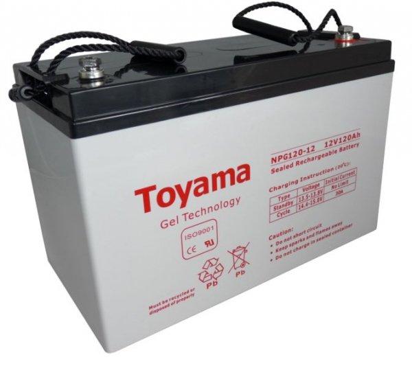 Akumulator Toyama NPG120 12V 120Ah GEL
