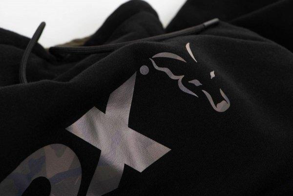 Fox Bluza BLACK/CAMO HOODY XXXL CFX066