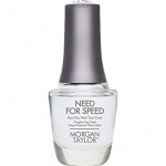 TOP do utwardzania - Morgan Taylor Top Coat Need for Speed 15ml - szybkoschnący