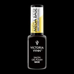 MEGA Baza Milky White pod lakier hybrydowy (hard,hardi,base) Victoria Vynn - Mleczna Biel