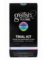 Gelish POLYGEL zestaw startowy - Trial Kit - flexi żel
