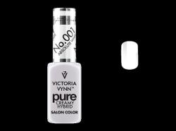 001 Absolute White-kremowy lakier hybrydowy Victoria Vynn PURE (8ml)