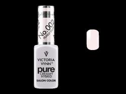 002 Pearly Glow - kremowy lakier hybrydowy Victoria Vynn PURE (8ml)