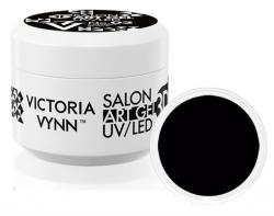 Żel Dekoracyjny do zdobień - Black 5 ml - czarny VICTORIA VYNN