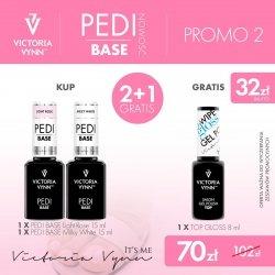 PROMO 2X PEDI BASE + TOP HIGH GLOSS GRATIS VICTORIA VYNN