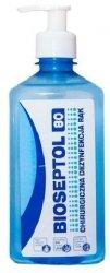 Płyn do dezynfekcji dłoni na bazie alkoholu - BIOSEPTOL 80 - 500ML (bez pompki)