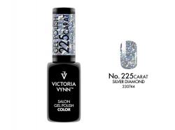 GEL POLISH LAKIER HYBRYDOWY CARAT SILVER DIAMOND 8 ML (225) VICTORIA VYNN