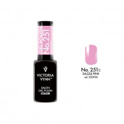 Lakier hybrydowy Gel Polish Color DAZZLE PINK nr 251 VICTORIA VYNN - 8 ml SPRING 2020