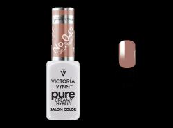 043 Bella Brown - kremowy lakier hybrydowy Victoria Vynn PURE (8ml)
