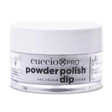 Cuccio manicure tytanowy -5553 DIP SYSTEM PUDER Silver Silver Mica 15 G