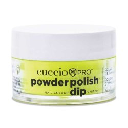 Cuccio manicure tytanowy - 3073 DIP SYSTEM PUDER Neon Yellow 14 G