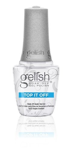 Gelish TOP it off  15ml - over gel polish deal sale