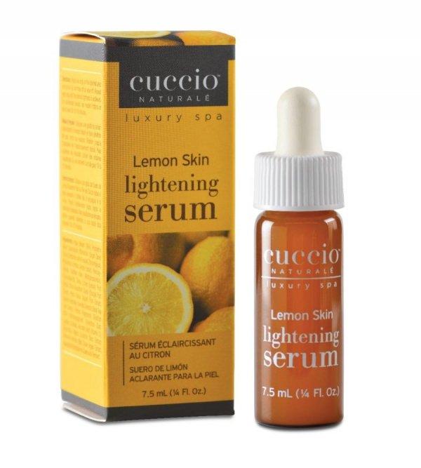 Cytrynowe serum wybielające plamy pigmentacyjne skóry