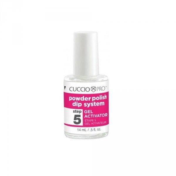 Manicure tytanowy krok 5 - Cuccio DIP - Aktywator 14ml