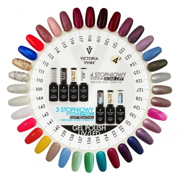 118 Right Reddish Lakier Hybrydowy Victoria Vynn Gel Polish