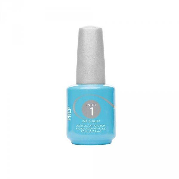 Manicure tytanowy krok 1  - Entity Dip prep - odtłuszczacz 15ml