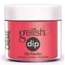 Puder do manicure tytanowego - GELISH - Pink Flame-Ingo DIP 23 g - (1610154)