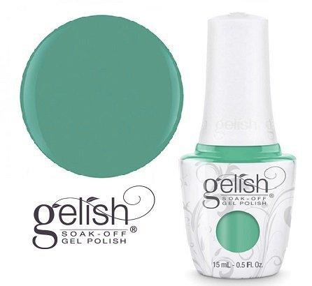 GELISH Lakier hybrydowy kolor: A Mint of Spring 15 ml (1110890) - kremowy. zielony miętowy