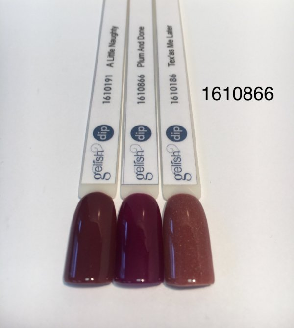 Puder do manicure tytanowego kolor Plum And Done DIP 23 g GELISH (1610866)