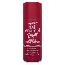Wysuszacz w sprayu na lakier do paznokci - Demert enamel dryer