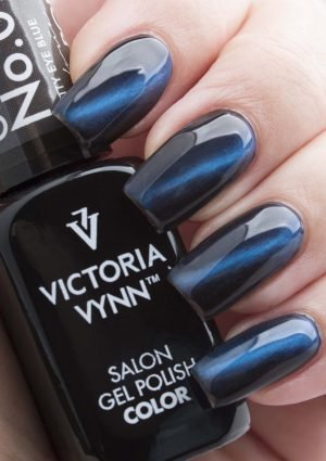 099 Kitty Eye Blue Lakier Hybrydowy Victoria Vynn Gel Polish