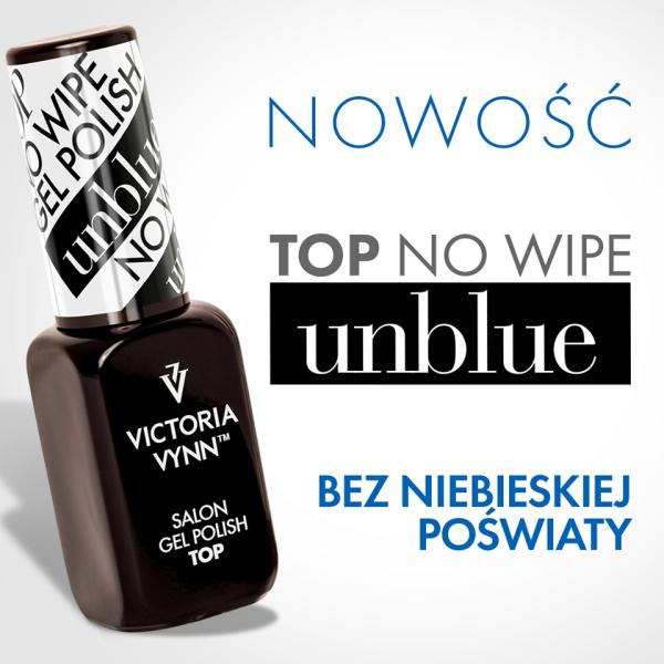 TOP NO WIPE UNBLUE 8 ML VICTORIA VYNN - bez niebieskiej poświaty