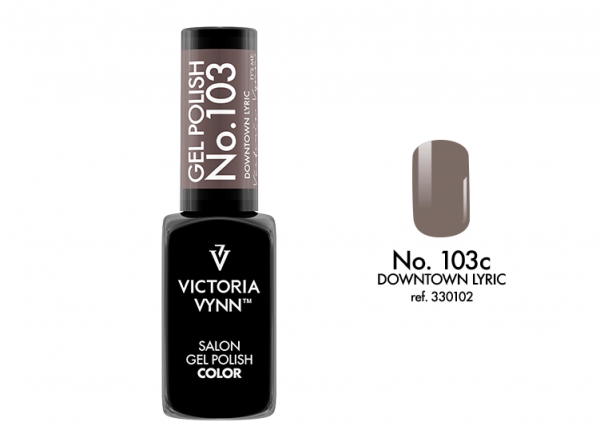 103 Downtown Lyric Lakier Hybrydowy Victoria Vynn Gel Polish