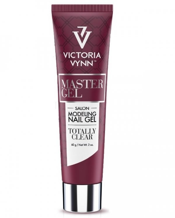 MASTER GEL kolor: Totally Clear 60 g - przezroczysty -  Victoria Vynn - Master żel