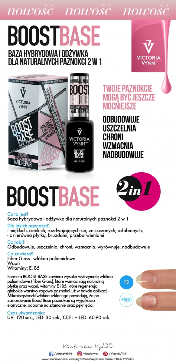 Victoria Vynn BoostBase - baza witaminowa