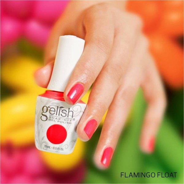 Lakier hybrydowy kolor: Flamingo Float 15 ml (1110305) - błyszczący - GELISH