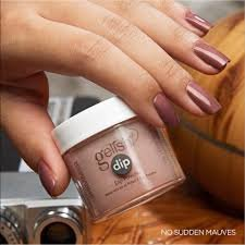 Puder do manicure tytanowego - GELISH DIP - No sudden Mauves 23g (1610318)