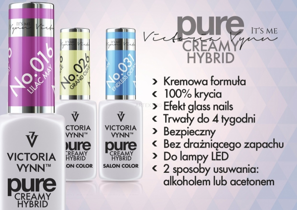 TOP PURE DO LAKIERU HYBRYDOWEGO 8 ML VICTORIA VYNN PURE