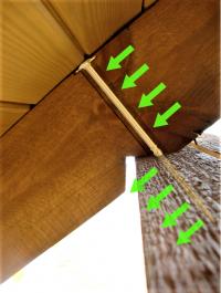 Wkręty ciesielskie 8x240 mm talerzowe - 50 szt