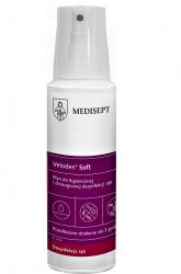 Medisept VELODES SOFT 250ml Płyn do higienicznej i chirurgicznej dezynfekcji rąk
