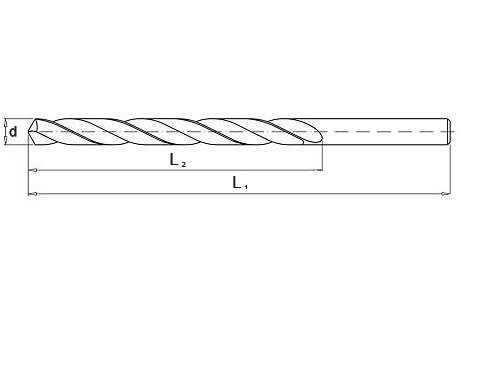 Wiertło do metalu 8,5 mm NWKa HHS BAILDON