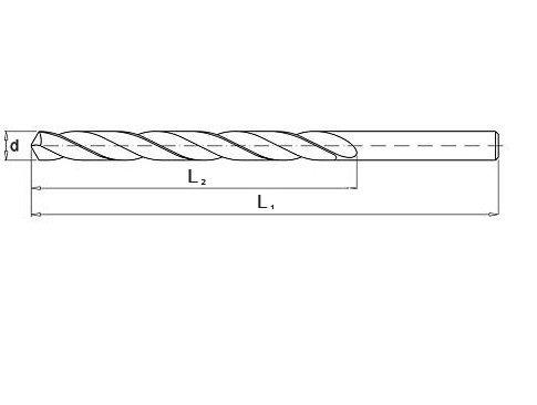 Wiertło do metalu 2,0 mm NWKa HHS BAILDON